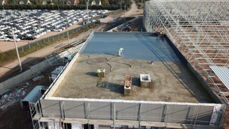 polyurea sprey kaplama14 Çatı ve Teras Yalıtımı