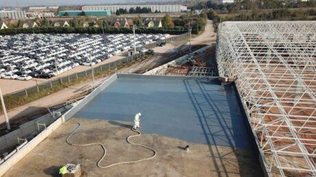 polyurea sprey kaplama16 Çatı ve Teras Yalıtımı
