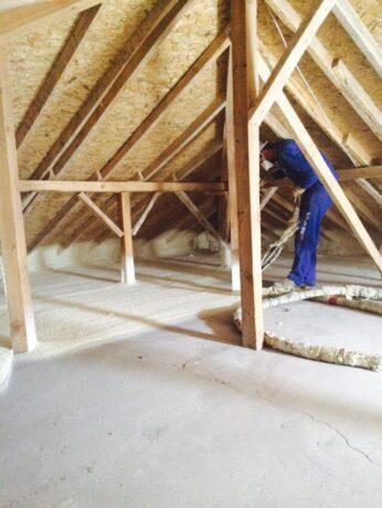 poliuretan kopuk kaplama05 Çatı ve Teras Yalıtımı